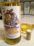 Stone-Aged Prehistoric Peach Wine. Shade Mountain Vineyards